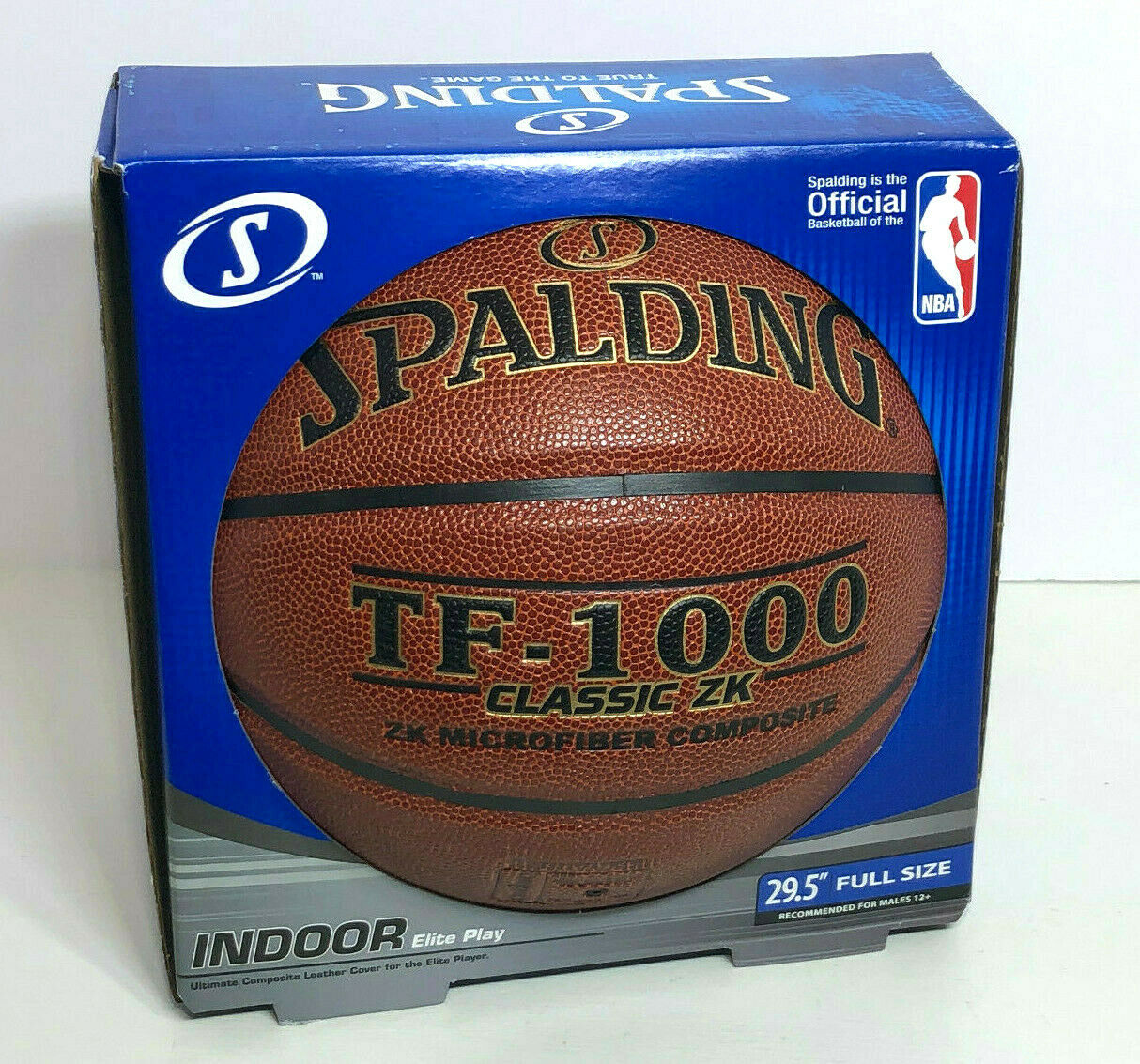 1000 Legacy Competition Basketball Size 7 Indoor Only Ball From Spalding TF