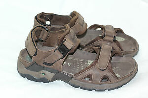 dfb0cf526eb Image is loading Allrounder-by-Mephisto-Alligator-Sandal -Brown-Leather-Strap-
