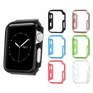 6 Colors Hard Protective Bumper Case Cover For Iwatch Apple Watch Series 3 2 1 Ebay