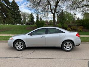 2009 Pontiac G6.