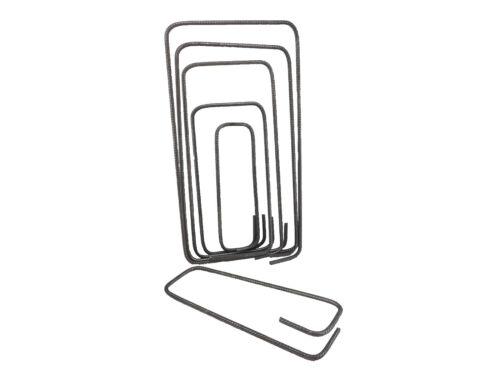 Bügel Betonstahl geschlossener Bügel 8mm 100er Set groß 310 bis 400mm