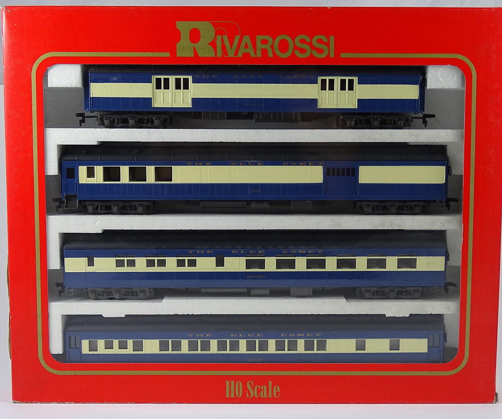 RIVAROSSI 6910 vagoni set Central RR of NJ USA NUOVO OVP Set A