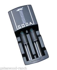 Efest Soda Dual Charger for 3.7v Rechargeable