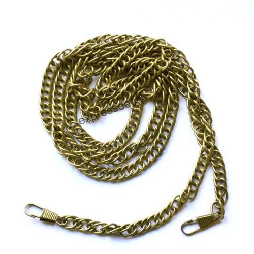 Chaine bandouliere 120 cm Bronze Avec mousquetons Pochette de soirée Sac a main