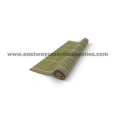 Premium Green Bamboo Sushi Rolling Mat Japanese Food Preparation Maki Nori Rolls