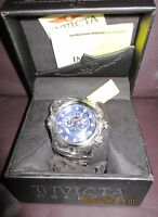 NEW Invicta Men's 6717 Reserve Venom Chronograph Blue Dial Stainless Steel Watch