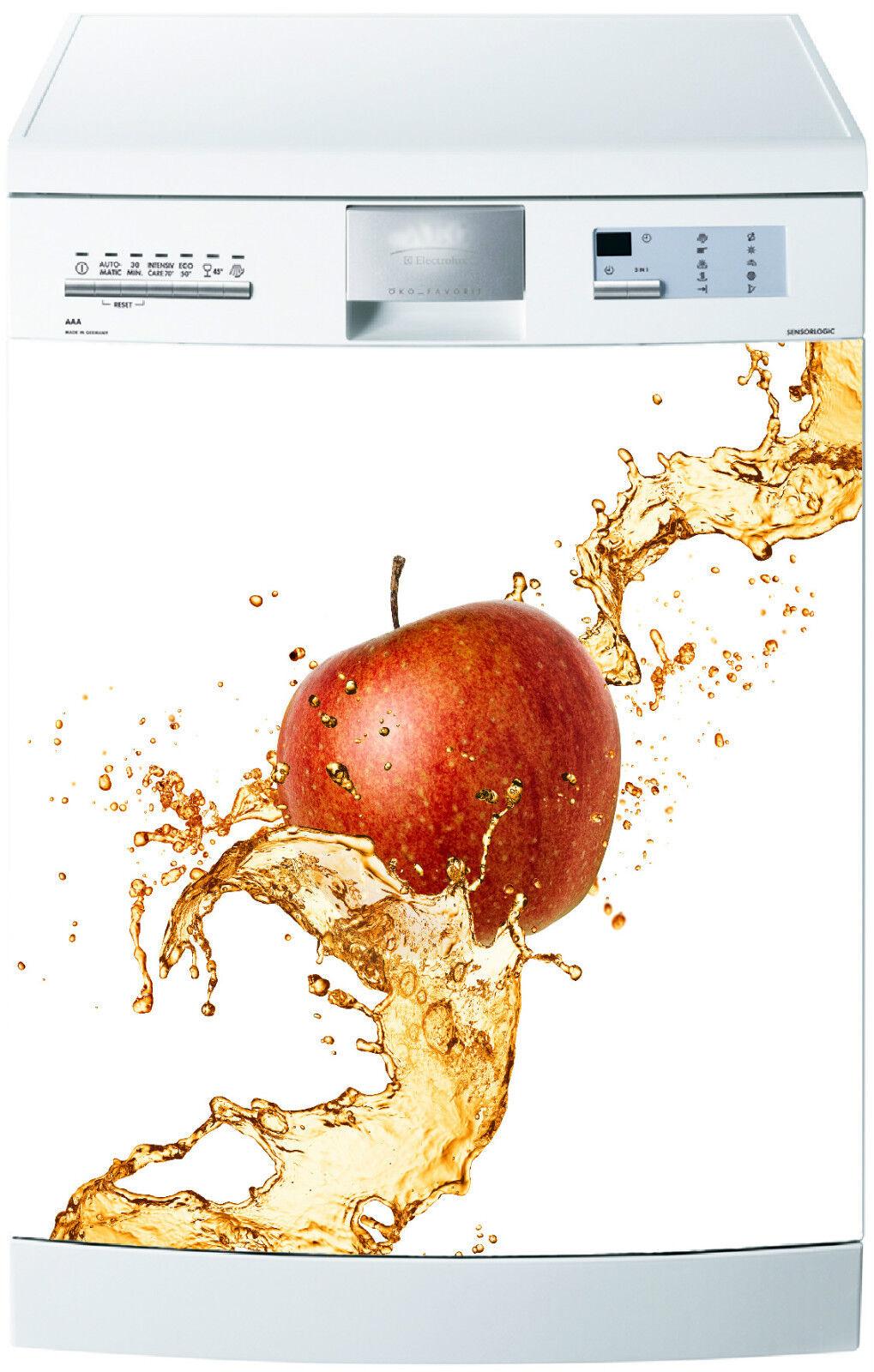 Adesivo Lavastoviglie Decocrazione Cucina Elettrodomestici di Mela 701 60x60cm
