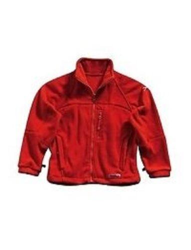"""KID/"""" S REGATA /""""URCA/"""" rosso in pile NUOVA con etichetta."""
