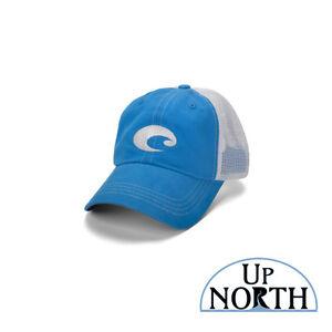 88b5afea6144 Costa Del Mar Mesh Hat Blue/Stone FREE SHIPPING 97963484541 | eBay