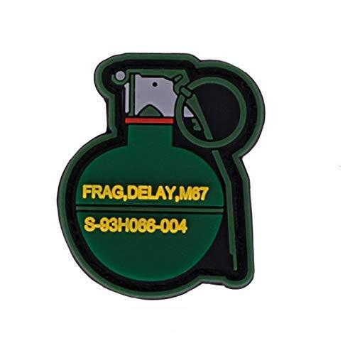 Morton Home Hand Grenades PVC Tactical Morale Badge Rubber Patch
