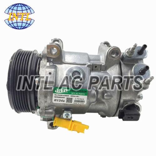 New Sanden SD7C16 1322 Car Auto A//C AC Compressor for PEUGEOT 407 308 CITROEN C5
