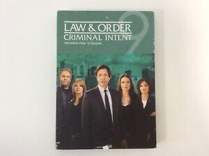 Law-amp-Order-Criminal-Intent-Season-10-4-Disc-Set-R1-Brand-New-amp-Sealed