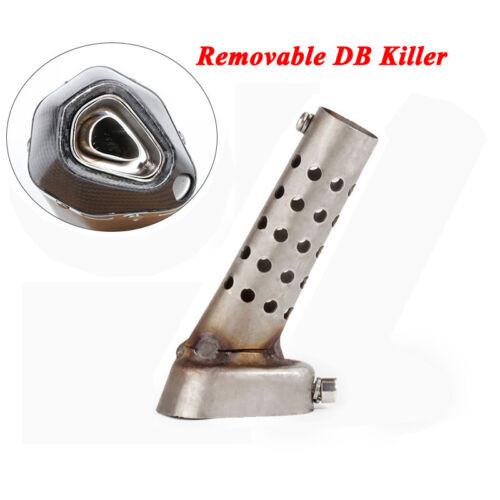 40x55mm Stainless Steel Insert DB Killer Silencer for Motorcycle Exhaust Muffler