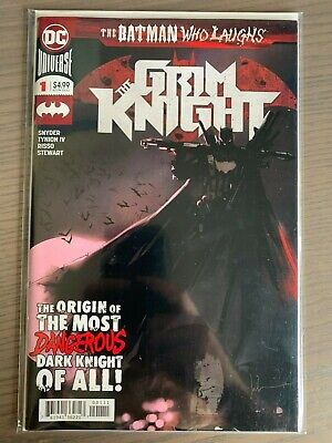 BATMAN WHO LAUGHS THE GRIM KNIGHT 1 JOCK 1st PRINT NM
