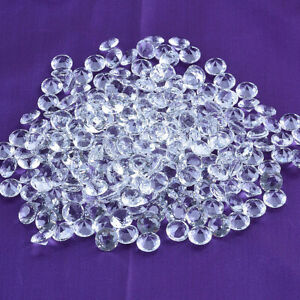 LONGWIN-50pcs-12mm-Clear-Crystal-Diamond-Table-Scatter-Glass-Wedding-Party-Decor
