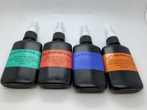 200GR Thick /& Light /& FLEXIBLE,LIGHT FLEXIBLE UV Resin Glue for Fly Tying