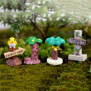 1-4x-Mini-Signpost-Sign-Fairy-Garden-Miniatures-Moss-Micro-Landscape-Bonsai-RS