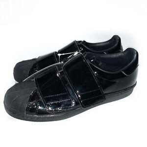 Abreviar Escándalo Semicírculo  Adidas Superstar 80s CF Zapatillas de Charol Negro B28046 US 7 Nuevo con  etiquetas | eBay