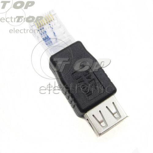 USB 2.0 to Ethernet 10Mbps RJ45 Network LAN Adapter Card Dongle brand new
