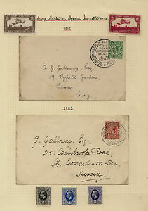 Great Britain stamp expo 2 covers and labels MS1113