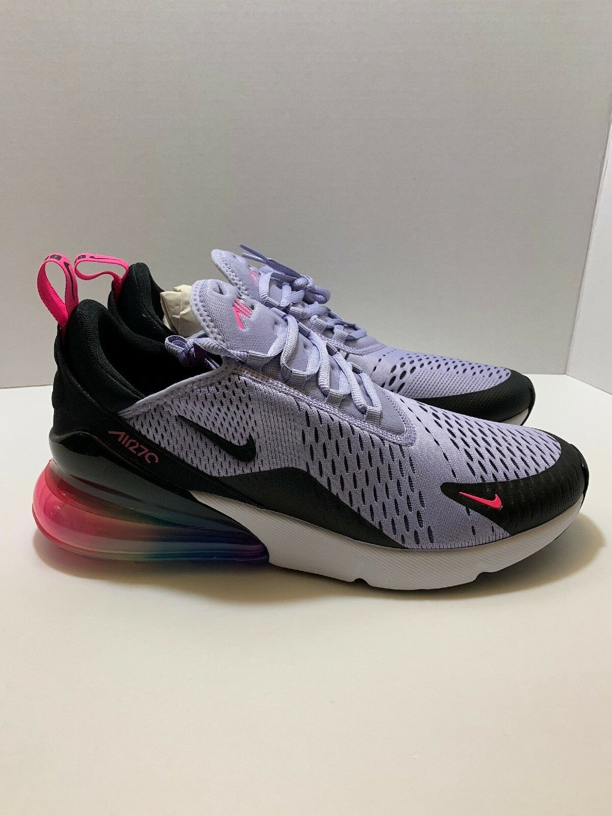 NEW Men's Nike Air Max 270  BE TRUE   Multi-color AR0344-500 Brand New size 10.5