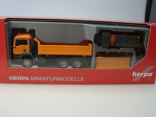 Herpa Man tgs m 6x6 invierno servicio vehículo elecciones municipales 307772-1:87