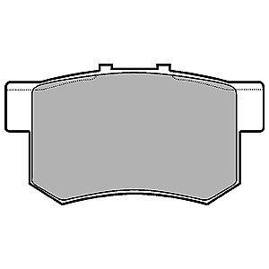 REAR BRAKE PADS ROVER GROUP MG ZR 160 1.8 PETROL 01
