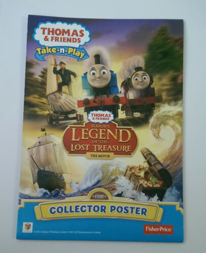Fisher Price Take N Play Thomas /& Friends 2015 Edition COLLECTOR poster