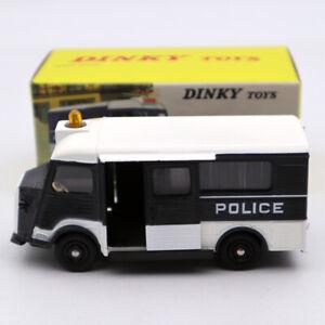 Atlas-1-43-Dinky-Toys-566-Citroen-CURRUS-coche-de-policia-Secours-deicast