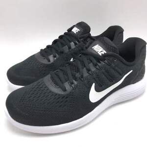 313896aa7c5e8 Nike Lunarglide 8 Men s Running Shoes Black White-Anthracite 843725 ...