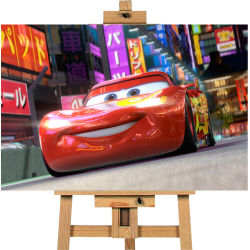 Cars Lightning McQueen  Canvas Print Wall art