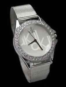 New Unique Attractive Designer Silver Color Wrist Watch for Girls & Women !!!