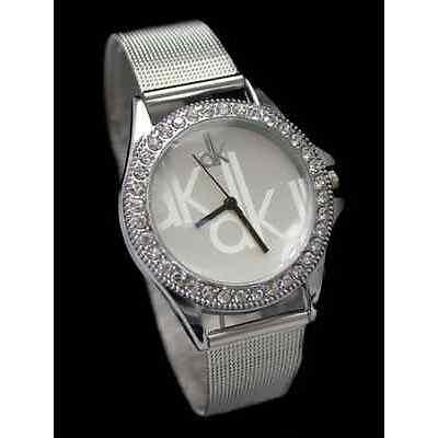New Unique Attractive Designer Silver Color Wrist Watch for Girls & Women !!!