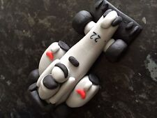 Edible F1 Buttons Car Cake Decoration Topper
