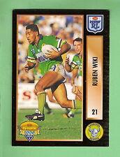 1994 Series 2 RUGBY LEAGUE CARD #21 RUBEN WIKI , CANBERRA  RAIDERS