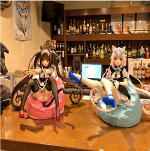 2pcs Anime NEKOPARA Vanilla /& Chocolat 1//4  Figure New NoBox 23cm Hard Chest