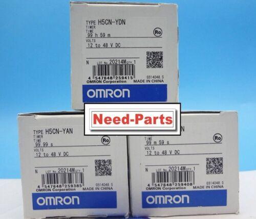 New Omron Timer H5CN-YAN 12-48VDC 99.99S