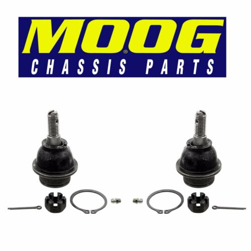 For Ford Expedition Pair Set of 2 Rear Lower Ball Joints Moog K500166