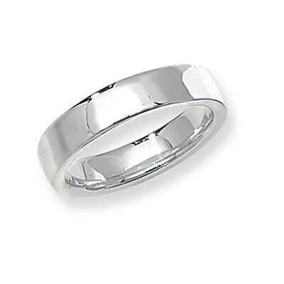 Wedding Ring Wedding Band Soft Court 4mm Sterling Silver Band Ring