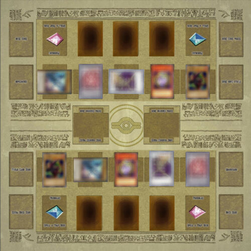 60x60cm Rubber Play Mat Egypt Mural Style Competition Pad For Yu-gi-oh Card CH