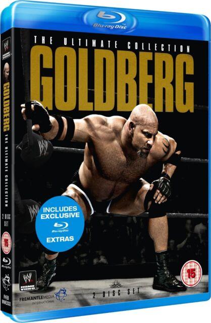 WWE - Goldberg - Ultimate Collection (Blu-ray, 2013, 2-Disc Set) New Region B