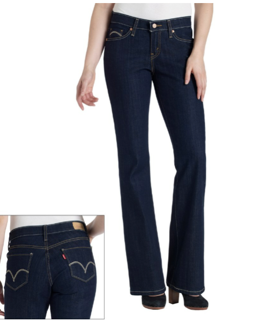 a7e93a33edf Women's Levi's 529 Curvy Bootcut Jeans Size 4 Short Size 27 X 30 for ...