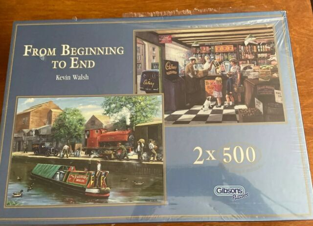 500 Piece Gibsons Official VW Campervan Jigsaw Puzzle