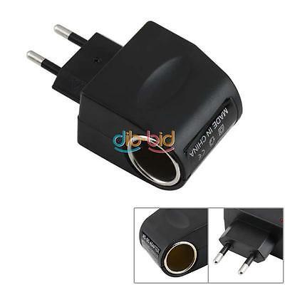 110V-220V AC to 12V DC EU Car Power Adapter Converter EB
