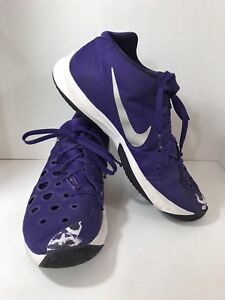 NIKE ZOOM Men's13 -  Basketball Athletic Shoes Hyperquickness 749883-505 Purple