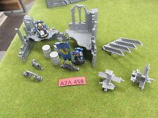 Warhammer 40K terrain scenery Gothic Ruins city walls tanks traps barrells etc b