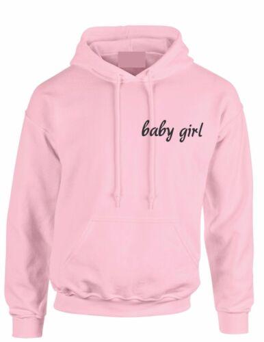 BABY GIRL  Hoody Slogan Tumblr girl power,feminist Hoodie kid Adult hooded top