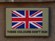 Republic of Ireland THESE COLOURS DON/'T RUN Patch Irish Flag irish British Army