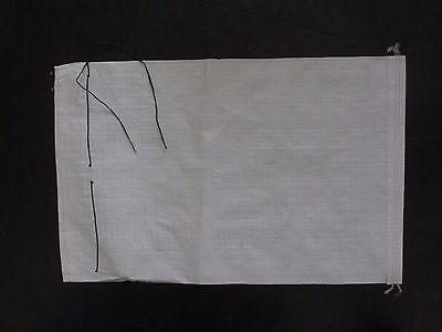 10 Sandsäcke 40x60cm Gewebesäcke Hochwassersäcke Sandsack Mit Königsknoten