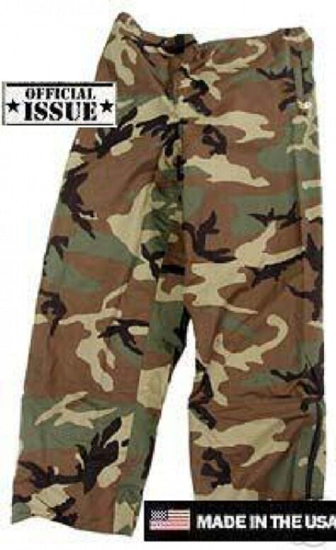 US Army WCP ECWCS Goretex Cold Weather Hose woodland camouflage XLarge XLarge camouflage Regular ad9b27